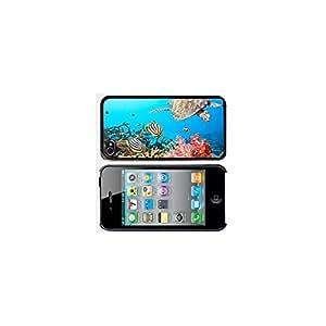 Apple iPhone 5 5s Black 5B38 Hard Back Case Cover Sea Turtle In Ocean