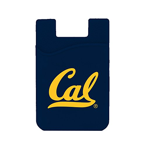 (Guard Dog Card Keeper/Card Holder Silicone Phone Wallet (Cal Bears))