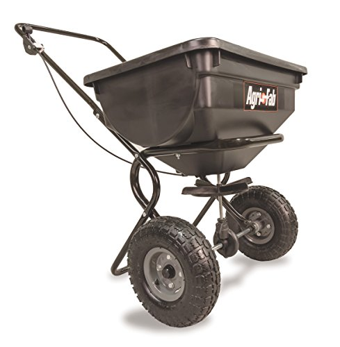 Agri-Fab 85-Pound Push Broadcast Spreader 45-0388 (Best Push Fertilizer Spreader)