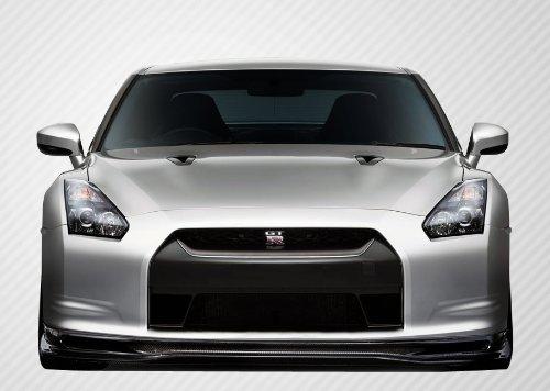 Carbon Creations ED-XNM-141 Eros Version 5 Front Lip Under Spoiler Air Dam - 1 Piece Body Kit - Fits Nissan GTR -