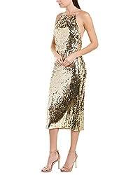 Women's Sequin Silk-Lined Cocktail Dress
