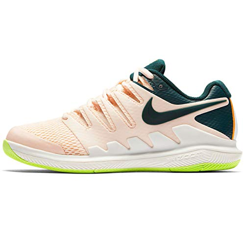 NIKE de 802 WMNS Spruce Guava X Midnight Air Vapor Multicolore Peel HC Femme Zoom orange Tennis Ice Chaussures rrwf0Tqp