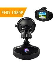 """SuperEye Dash Cam Telecamera per Auto Dash Cam per Auto Camera Car 1080P con Infrarossi Visione Notturna, 170 Gradi, Rilevazione di Movimento, Registrazione in Loop, WDR,G-Sensor e 2,7"""" Schermo LCD"""