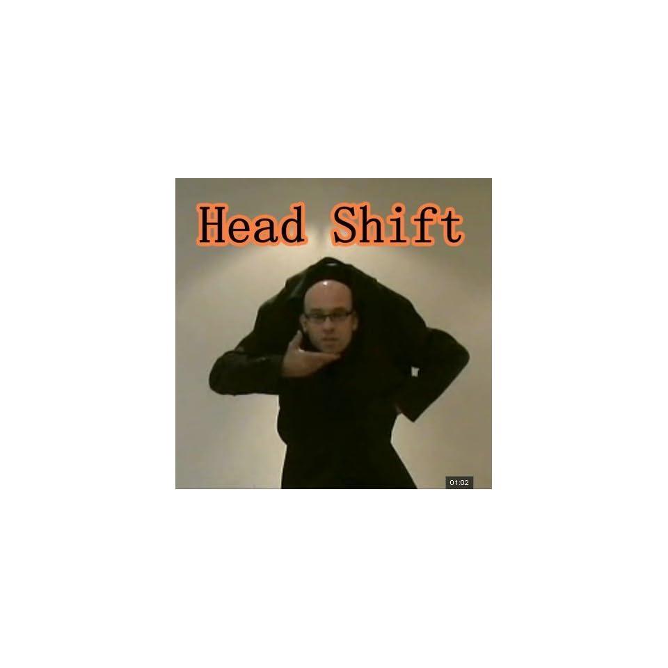 5pcs/lot head shift magic trick magic prop magic toy