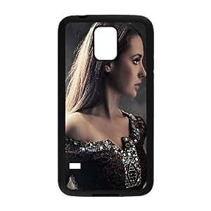 Celebrities Alison Brie Samsung Galaxy S5 Cell Phone Case Black yyfabd-011207