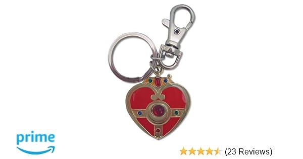 Great Eastern Entertainment Sailormoon S Cosmic Heart Metal Keychain