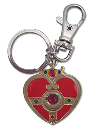 Great Eastern Entertainment Sailormoon S Cosmic Heart Metal Keychain