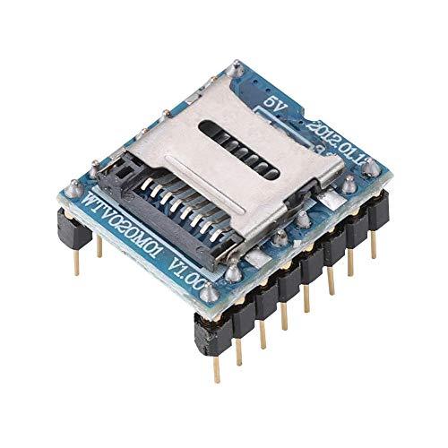 Voice Module, Game Machine Voice MP3 Module Sound Chip Audio Player Card Support Memory Card (Module Game)