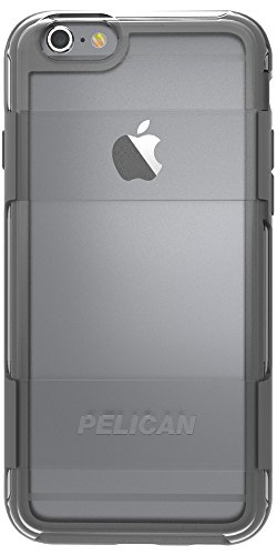 Pelican Adventurer Case for Apple iPhone 6 Plus/6s Plus - Retail Packaging - Clear/Grey Photo #5