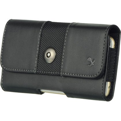 - iCellCover Luxmo #12 HTC Black M7 Horizontal Pouch