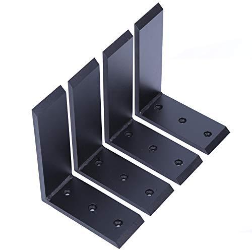 4 Heavy Duty Black Steel 6