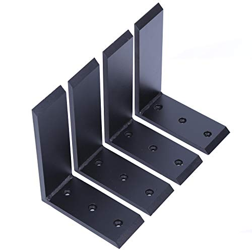 4 Heavy Duty Black Steel 6