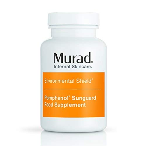 Murad Pomphenol Sunguard Dietary Supplement, 100% Pure Pomegranate Extract, 60 Tablets
