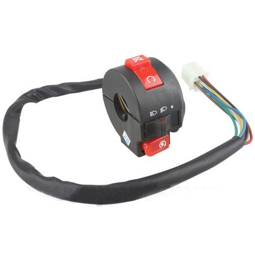 (X-PRO Left Switch Assembly for 50CC 70 cc 90cc 110 CC 125cc 150 cc 200cc 250 cc ATVs Quad 4 Wheelers Taotao SunL Coolster)