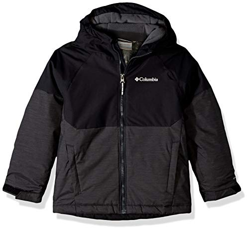 Columbia Boys Alpine Action Ii Jacket, Black Heather, Black, Medium