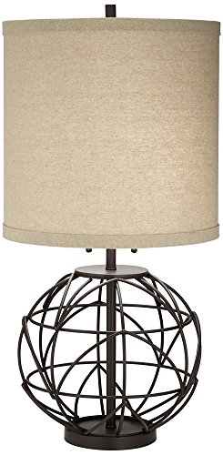 Pacific Coast Lighting Alloy Globe Table Lamp in Bronze