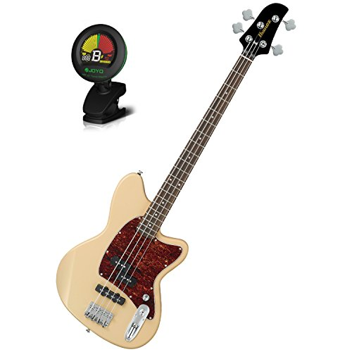 Ibanez TMB100IV Ivory Talman Bass Series Electric Bass w/ Tuner by Ibanez