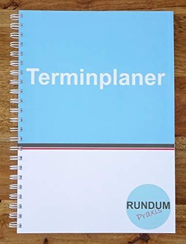Terminplaner Praxisplaner Terminkalender Montag bis Freitag 2 Spalten 15 und 30 Minuten Takt 8 bis 21 Uhr A4
