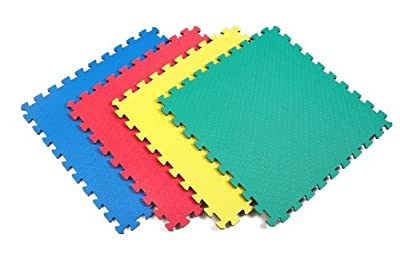 Norsk Reversible Recyclamat Multi-Purpose Foam Flooring, 4-Pack