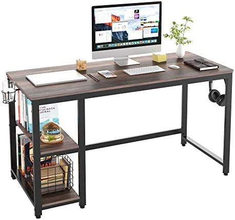 HOMECHO Industrial Computer Desk