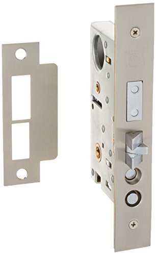 (Baldwin 6301.R Right Handed Entrance and Apartment Mortise Lock with 2-1/2