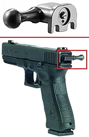 Glock Steel Tactical Pull Assist Reloading Cocking Handle