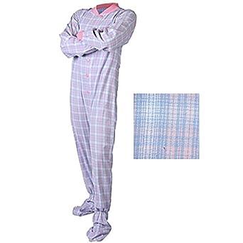 da8211963fc Big Feet Pyjama Co. Romper Suits for Adults - Blue and Pink  Amazon ...