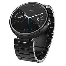 Motorola Moto 360 23mm Smart Watch - Dark Metal (1st Generation) ***Discontinued by Manufacturer***