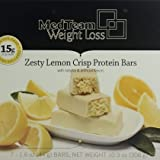 Zesty Lemon Crisp Protein Bar VLC (7 bars of 1.6 oz, net 10.9 oz) - High Protein Zesty Lemon Crisp Bar
