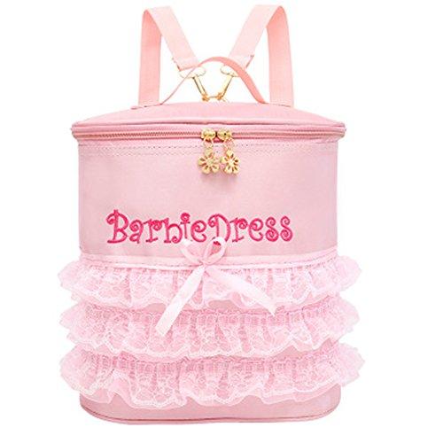 Ballerina Ballet Tutu Barbie Dress Bud silk Dance Bag Backpack (Short Yarn) by TOPJ