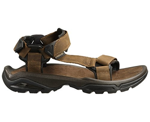 Teva Terra FI 4 Leather Walking Sandals - SS15 - 11 - Brown