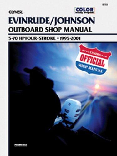 Clymer J/E 5 70Hp 4-Stroke Outboard Manual