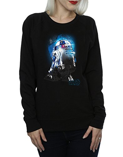 d2 Last The R2 Wars Entrenamiento Negro Mujer De Brushed Star Jedi Camisa twxSYgqAq