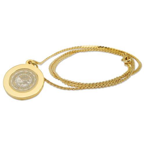 - CSI Cannon Sports UNLV Runnin Rebels Gold Pendant Necklace