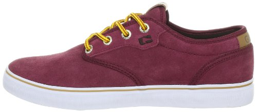 Globe Skateboard Shoes Motley Burgundy/Tan Size 8