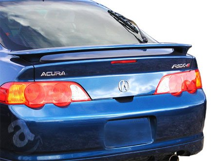 02-06 Acura RSX 2dr Factory Style Spoiler - Painted or Primed : NH700M ALABASTER SILVER MET Acura Rsx 2dr Wings