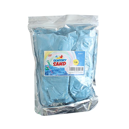 Sensory Sand 2.2lbs (1kg) - ECO friendly, Blue
