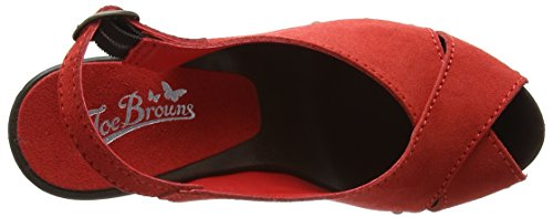 Joe Browns Elizabetta Slingback Shoes - Tacones Mujer Red (a-red)