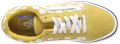 Old Sneaker Adulti Vans Lite Canvas Giallo Unisex Skool Suede S1wdC