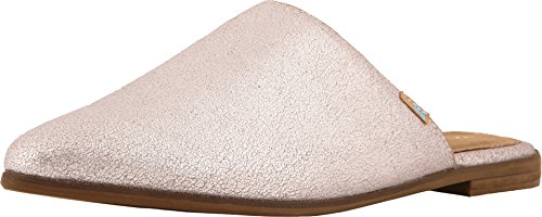 Metallic Leather Mules - TOMS Women's Jutti Mule Lavender Metallic Leather 6 B US B (M)
