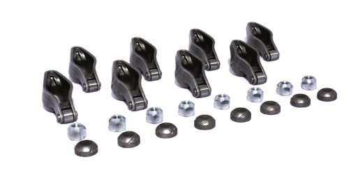 Set Rocker Roller - COMP Cams 1416-8 Magnum Roller Rocker Arm with 1.6 Ratio and 3/8
