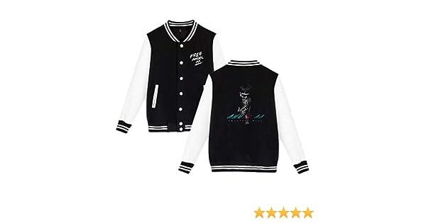 Anuel-AA Fashionable Male And Female Baseball Uniform Sportswear