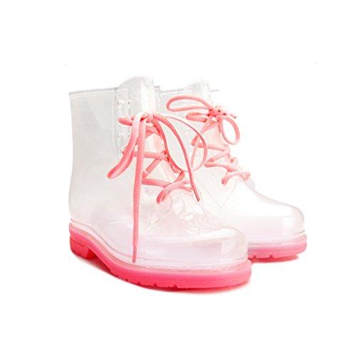 clear rain boots women - 3
