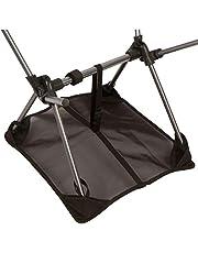 Zandafdekking, die draagbare campingstoelen tegen het zinken beschermt, geschikt voor de meeste compacte klapstoelen op de markt