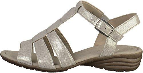 Casual Alla Caviglia Pietra Donna Cinturino Con Gabor Sandali TqdPxgwTB