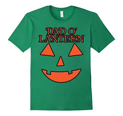 Best Green Lantern Costume (Mens Easy Costume Jack O' Lantern T-Shirt - Best Dad Pumpkin Tee 3XL Kelly Green)