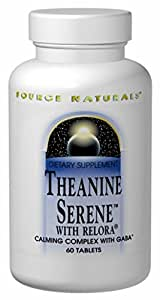 Source Naturals - Theanine Serene W/Relora, 60 tablets