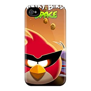 Hot Cover Diy For SamSung Galaxy S6 Case Cover Skin - Angry Birds Space
