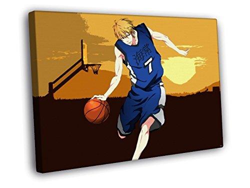 H5V6341 Kuroko no Basuke Kise Ryouta Kuroko's Basketball Anime Manga Art 50x40 FRAMED CANVAS PRINT