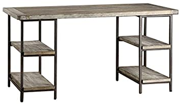 home office table. Renate Contemporary Wood-Metal Home Office Table Modern Computer Desk By
